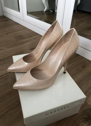 Casadei лодочки туфли, 38 размер