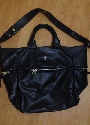 Класная сумка еко кожа