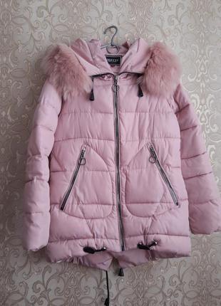 Куртка зимняя, очень теплая до - 30