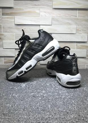Кроссовки nike air max 95 se black anthracite-white. оригинал