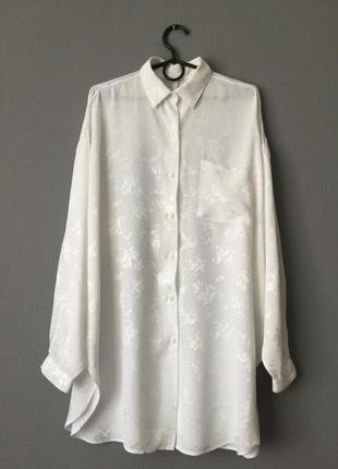 Удлиненная винтаж эксклюзив блузка гобелен.