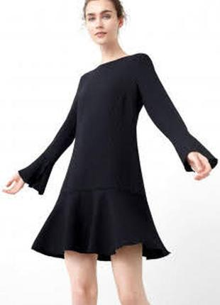 Новое платье в тонкую полоску mango2 фото