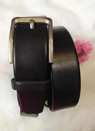 Женский кожаный ремень черный пояс