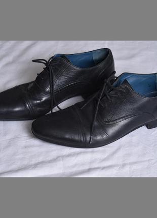 Кожаные туфли tommy hilfiger