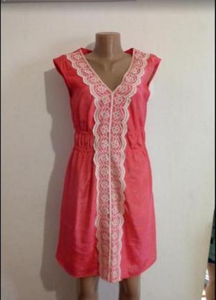Атласне плаття з мереживом(атласное платье с кружевом)