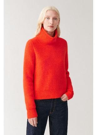 Cos шерстяно-мохеровый свитер 36,38
