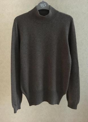 Кашемировый свитер с высоким горлом  cashmere collection 100% кашемир