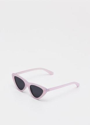 Sinsay очки женские пурпурные розовые