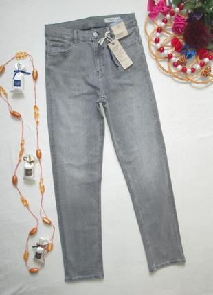 Суперовые стрейчевые прямые трендовые стильные джинсы marks & spencer