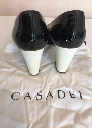 Туфли casadei лаковые2 фото