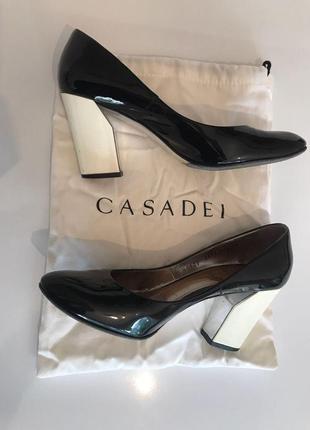 Туфли casadei лаковые