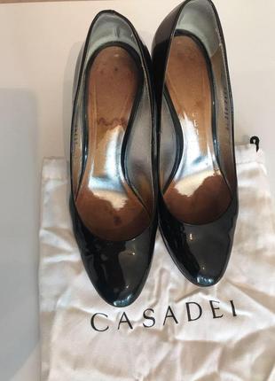 Туфли casadei лаковые4 фото