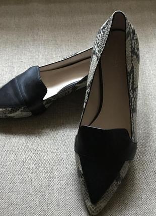 Кожаные туфли cole haan