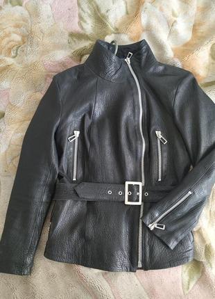 Кожаная куртка-косуха, турция, alvadonna
