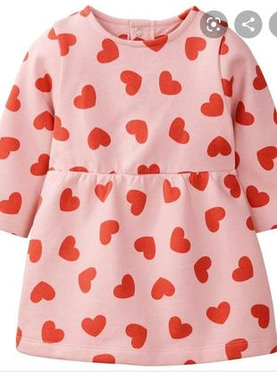 Теплое платье на принцессу фирмы lupilu