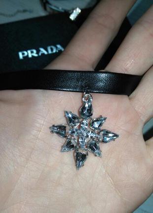Чокер в стиле готика с кристалами. украшение/ прикраса, колье
