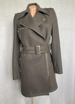 Итальянское пальто  косуха  кашемир daniel ricci