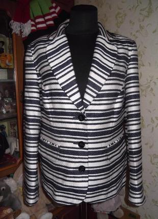 Пиджак с карманами размер 14