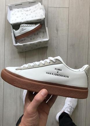 Шикарные женские кроссовки puma clyde stitched х han kjobenhavn