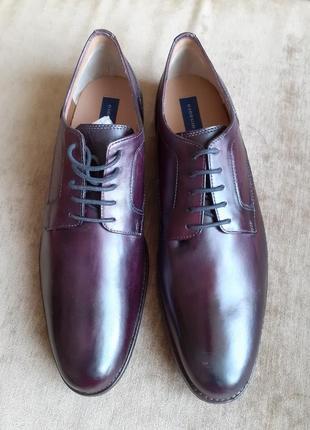 Кожаные туфли giorgio brutini men's garland oxford , большой размер обуви из сша, 32 см.