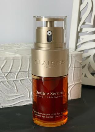 Сыворотка clarins double serum