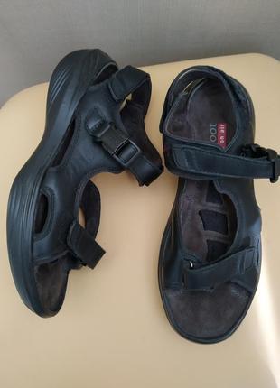 39 р. kyboon кожаные супер комфортные босоножки сандалии