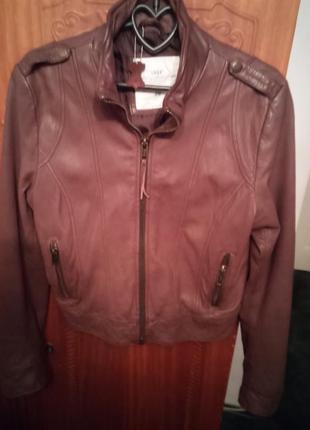 Курточка кожанная h&m