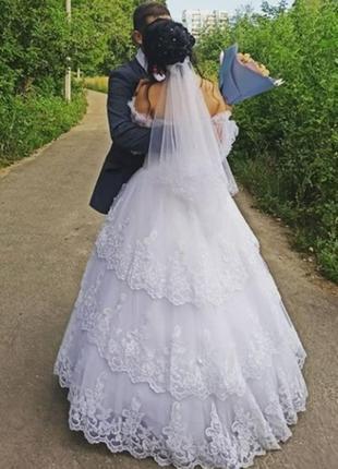 Свадебное платье купить сумы много кружева
