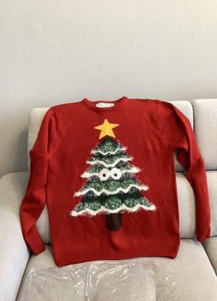 Новый новогодний джемпер свитер cedarwood state  размер л