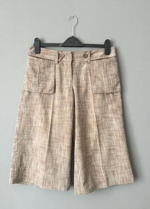 Topshop хлопковые шорты бермуды 12–46 размер.