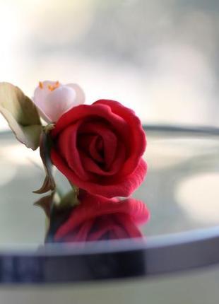 Весільна шпилька квіти в зачіску квіти для нареченої