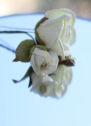 Весільна шпилька шпилька для волосся квіти в зачіску квіти для нареченої квіти у волосся