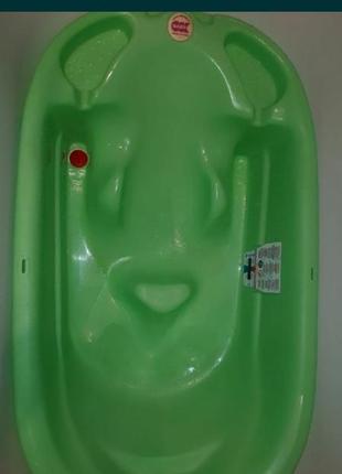 Итальянская ванночка с горкой и термодатчиком