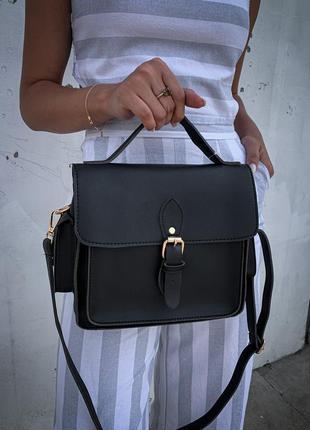 Новая классная женская сумка кроссбоди кожа pu люкс качество / клатч через плечо