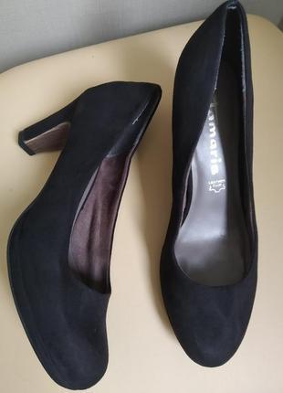 38 p. tsmaris классические замшевые туфли
