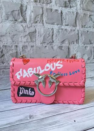 """Женская сумка-клатч """"pinko fabulous"""""""