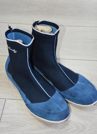 Обувь боты ботинки для ныряния, аквашузы, для подводного плавания, дайвинга р.45