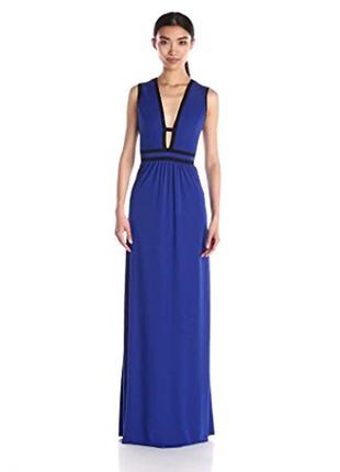 Платье в пол bcbgmaxazria вечернее выпускное для фотосесий размер м