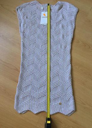 Платье вязаное justor , размер м.