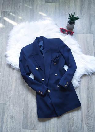 Класический удлиненный пиджак в стиле миллитари 😍