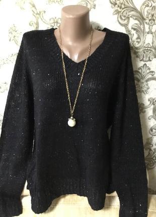 Красивый фирменный свитер размер 50 52