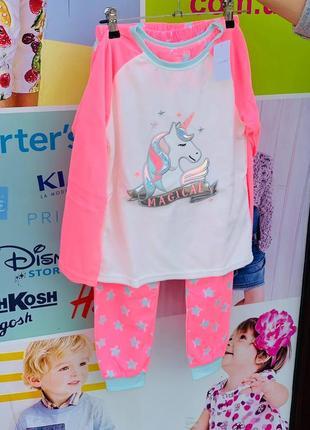 Флисовая пижама для девочек primark