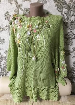Красивый свитерок. раз 50-52