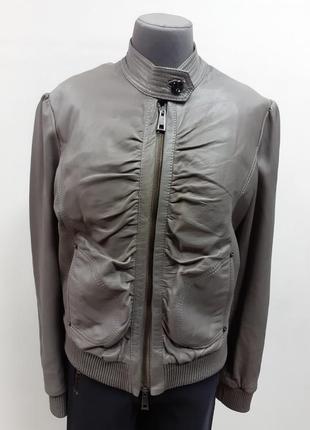 Модная, кожаная куртка, takeshy kurosawa, оригинал, 46 размер