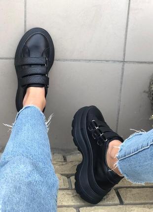 Женские повседневные кроссовки на массивной подошве