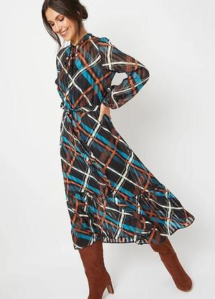 Шифоновое платье george  (р.m)