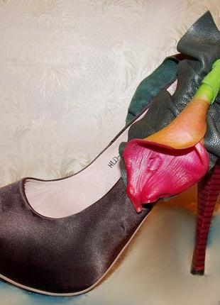 Оригинальные летние туфли