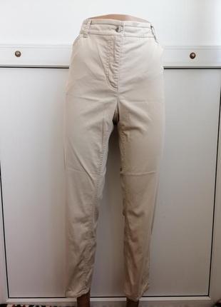 Брюки штаны женские повседневные бежевые тонкие