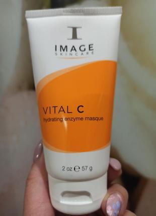 Маска энзимная image skincare vital c