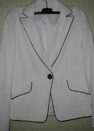 Белый пиджак от dorothy perkins